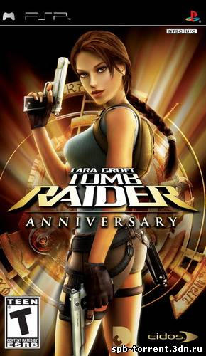 Tomb Raider Anniversary скачать торрент PSP