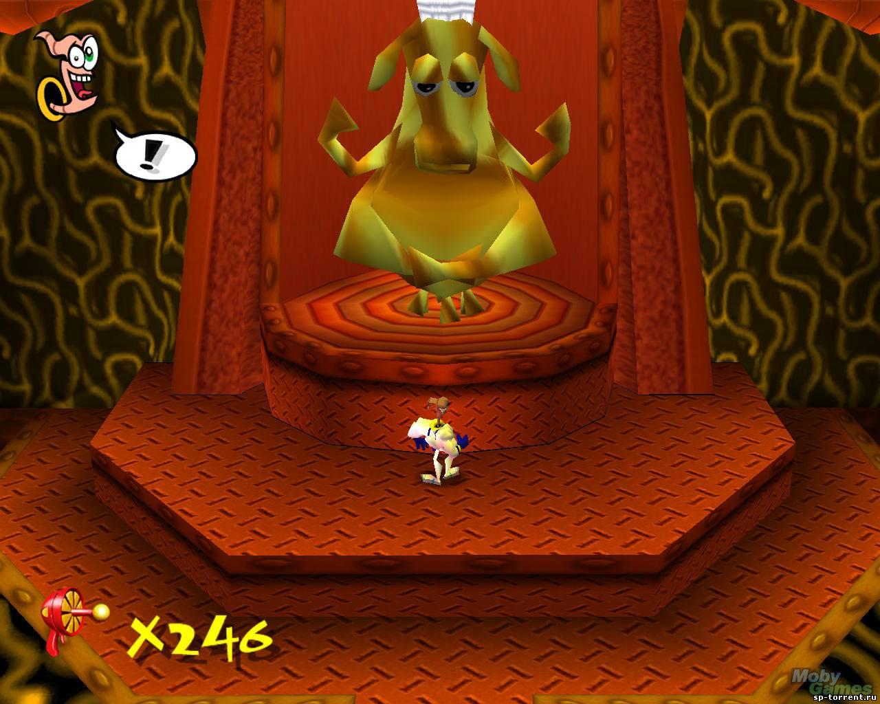 Червяк джим игра скачать бесплатно на пк 1392532.